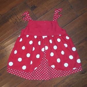 Gymboree girls Ladybug Polka Dot Summer Top 5
